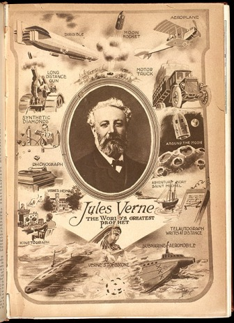 Jules Verne provided a lot of inspiration for this genre.